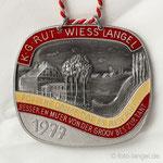 K.G. Rut-Wiess Löstige Langeler e.V. - 1977 - Pöppche danze, dat es riskant ... Besser en Mu'er von der Groov bes zur Tant