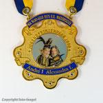 IGK Blau-Gelb Niederkassel - 2000 -Jugendprinzenpaar