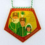 K.G. Fidele Grön Wiesse Rezag- Porzer Ehrengarde - 1983