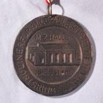 Der Orden wurde 1982 anlässlich der Fertigstellung der Mehrzweckhalle Spender und Unterstützer verliehen (Vorderseite)