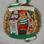 K.G. Fidele Grön Wiesse Rezag- Porzer Ehrengarde - 2003