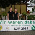 Jasmin Glahn mit Heike Thiele