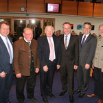 MdL Klaus Stöttner, ehem. MdL Sepp Ranner, ehem. bayr. Ministerpräsident Dr. Günther Beckstein, Uwe Gottwald, MdL Otto Lederer, Pastor Alexander Schott