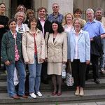 Mitglieder der Kinderakademie Mannheim zu Besuch bei Egon Jüttner in Berlin