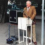 Egon Jüttner auf dem Polizeifest in Mannheim