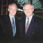 Egon Jüttner mit Ministerpräsident a.D. Jürgen Rüttgers