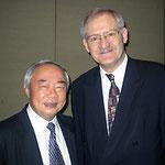 Egon Jüttner mit dem ehemaligen Vorsitzenden des Auswärtigen Ausschusses der Nationalversammlung Vietnams, Vu Mao