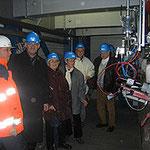 Egon Jüttner im Biomassekraftwerk Mannheim