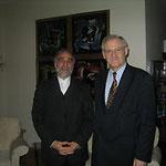 Egon Jüttner mit dem ehemaligen Botschafter der Islamischern Republik Iran, Seyed Shamseddin Khareghani