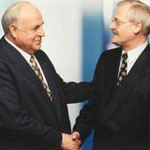 Egon Jüttner mit Bundeskanzler a.D. Dr. Helmut Kohl