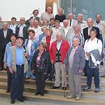 Egon Jüttner mit Mitgliedern der CDU Rheinau im Jakob-Kaiser-Abgeordnetenhaus