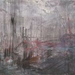 "Anja Kühnrich-Wilke, ""III"", 2008 Acryl auf Leinwand, 100 x 160 cm"