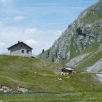 Das Zollhaus vor dem Seekar im Radurschl
