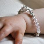 Kinderarmband Rosenquarz