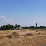 Baugebiet vor Baubeginn