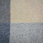 S. Fischbacher Living - Plaids/ Kuscheldecke Cashmere- & Merinowolle - Nature Blocks Big
