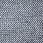 S. Fischbacher Living - Plaids/ Kuscheldecke Cashmere- & Merinowolle - Herringbone Grey