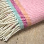 S. Fischbacher Living - Babydecke - Pink Flamingo