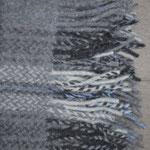 S. Fischbacher Living - Plaids Kuscheldecke Cashmere- & Merinowolle - Blue Wolf