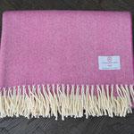 S. Fischbacher Living - Plaids/ Kuscheldecke Schurwolle Cosy Violet