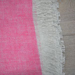 S. Fischbacher Living - Plaids aus irischem Leinen - Pink
