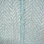 S. Fischbacher Living - Plaids/ Kuscheldecke Cashmere- & Merinowolle - Herringbone Mint