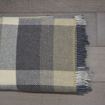 S. Fischbacher Living - Plaids/ Kuscheldecke Cashmere- & Merinowolle - Nature Blocks Small