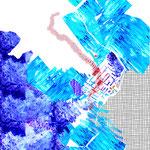 Esquisse numérique utilisant l'incrustation de textures réalisées à la main