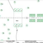 Beauvais - Plan de plantation des arbres - Autocad
