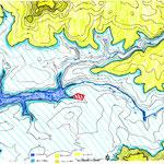 Document d'analyse de la position du jardin à aménager par rapport à la topographie et aux cours d'eau alentour