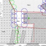 Beauvais - Plan des travaux préliminaires - Autocad