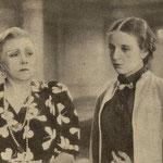 Mieczysława Ćwiklińska Elżbieta Barszczewska w filmie Trędowata 1936