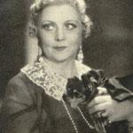 Mieczysława Ćwiklińska w scenie z filmu Panienka z poste restante 1935