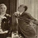 Mieczysława Ćwiklińska i Michał Znicz w scenie z filmu Jadzia 1936