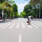 Leere Straßen jedes Wochenende