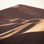 Mitten in den Dünen der Kongorin Els in der Wüste Gobi.