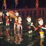 Traditionelles Wasserpuppentheater in Hanoi.