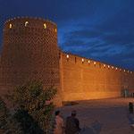 Die Zitadelle von Schiras, welche 1766/67 durch Karim Khan von den besten Architekten und Künstlern dieser Zeit erbaut wurde.