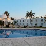 Hotelanlage in Puerto Escondido, Mexiko.