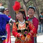 In den Parks von Peking wird gerne gesungen und getanzt.