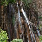 In der grandiosen Berglandschaften des Zagros - Gebirges findet man die Wasserfälle von Abshar-e Margon.