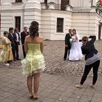 Im Rathaus von Kaunas lassen sich viele Brautpaare trauen.