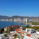 Blick auf die Bucht von Acapulco.
