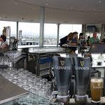 Eine Besichtigung der Guinnes-Brauerei mit Umtrunk war für den Einstieg genau das Richtige.