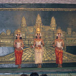 Traditionelle Tanzaufführung in Siem Rep.