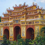 Tor zum Kaiserpalast von Hue.