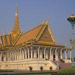 Silberpagode in Pnom Pen.