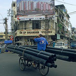 Transporter in Saigon.