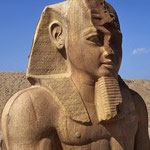 """Das pharaonische Tanis kennt man aus der Bibel  als """"Zoan im Lande Gosen""""."""