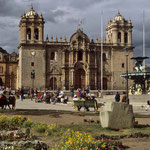 Kathedrale in Cusco.